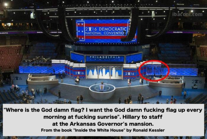 God damn flag!